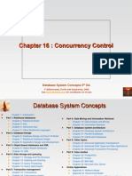 KorthDB5 p5 Ch16 Concurrency Control