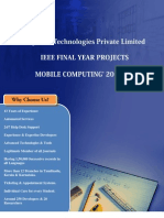 Final Year IEEE Project 2013-2014  - Mobile Computing Project Title and Abstract