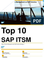 Top 10 reasons for using SAP ITSM