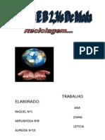 Reciclagem Area de Projecto (2)_Grupo 4