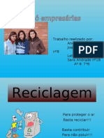 Reciclagem Power Point_Grupo 4
