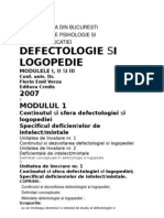 defectologie si logopedia