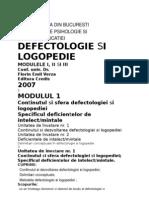 defectologie si logopedia