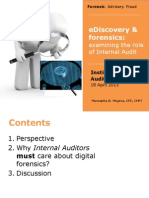 IIA_annualseminar_Ediscovery&InternalAudit_Examining the Role of IA