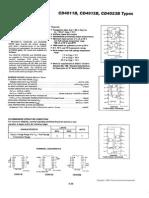 CD4011 CMos NAND Datasheet