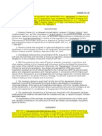 Private Equity The Blackstone Group Transaction and Advisory Fee Agreement