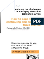 Examining Extent of Fraud Problem in Africa