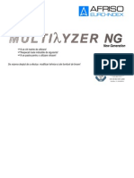 Analizoare Gaze Arse - Multilyzer Ng - Manual Utilizare