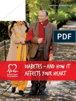 Diabetes and Its Relation to Heart Disease