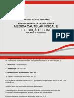 Aula 08- Ação cautelar e execução fiscal