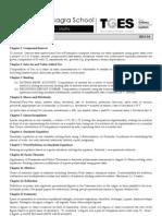Std 10 Maths Plan 2013-14