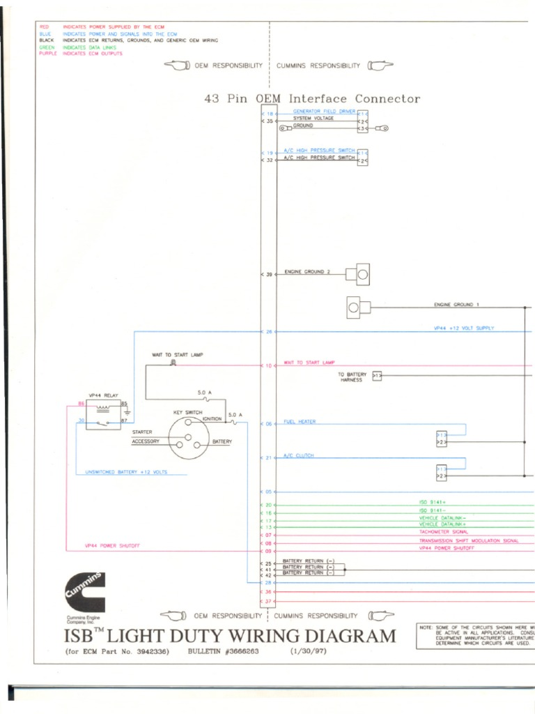 Isb Cm2150 Wiring Diagram Electrical Harley Davidson Wire Diagram – Isb 23 Pin Wiring Diagram
