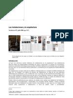 09_Las Instalaciones y La Arquitectura_Tectonica_2006