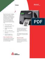 Avery Dennison 9854 Tabletop Bar Code Printer