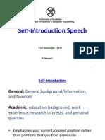 3 Self Introduction