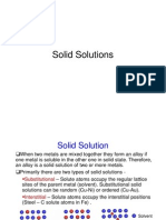 8 - Solid Solutions