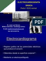 ECG Normal. Dr. Jose L. Herrera