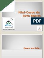 Minicurso Java Dayelianeraquel 1228497480454368 9