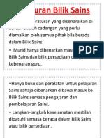 Peraturan Bilik Sains