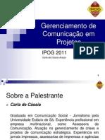2011_Gerenciamento de Comunicação em Projetos