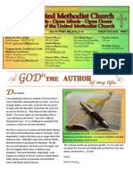 August 2013 FUMC Newsletter