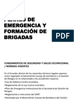 Planes de Emergencia y Brigadassss