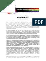 Manifiesto FELGTB 17 de MAyo