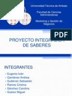 EXPOSICIÓN DEFENSA PROYECTO INTEGRADOR DE SABERES