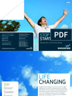 Stop Smoking Start Living - Booklet