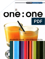 Business One-One Pre-Intermediate Student's Book