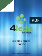 4LEDs - Catálogo 2012a