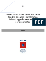 Guide Foudre Photovoltaique