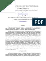 DISEÑO Y CONSTRUCCION DE UN ROBOT EXPLORADOR (Resumen)