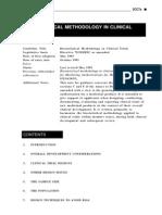 Metodologia estatística em pesquisa clínica