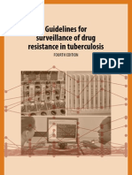 Guidelines for Survelaince of Drug Resistance in TB