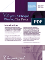 APACS Cheques Facts Leaflet