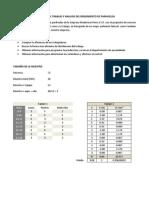 Muestreo Del Trabajo y Analisis Del Rendimiento de Parihuelas