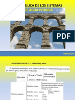 Hidraulica de Los Sistemas de AP - Parte i