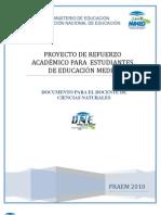Actividades de Refuerzo Primera Prueba de Avance Ciencias Naturales (1)