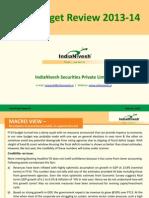 Nivesh Post Budget Review _2013-14