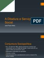 A Ditadura e Serviço Social