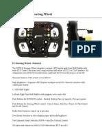 F1 Steering Wheel Manufacturer