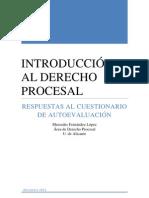 IDP 2011. RESPUESTAS AL CUESTIONARIO DE AUTOEVALUACIÓN