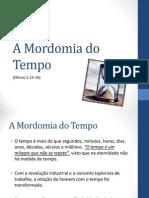 A Mordomia do Tempo.pptx