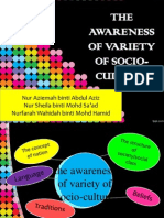 the awareness of socio cultural