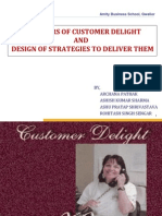 Drivers of Customer Delight