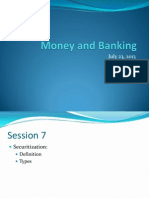 MB Summer13 -Session 7 - Securitization