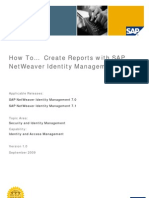 How to Create Reports With SAP NetWeaver Identity Management