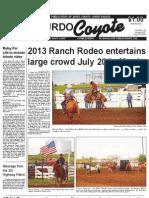 Murdo Coyote, July 25, 2013