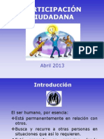 Presentacion Jovenes y Participacion Ciudadana